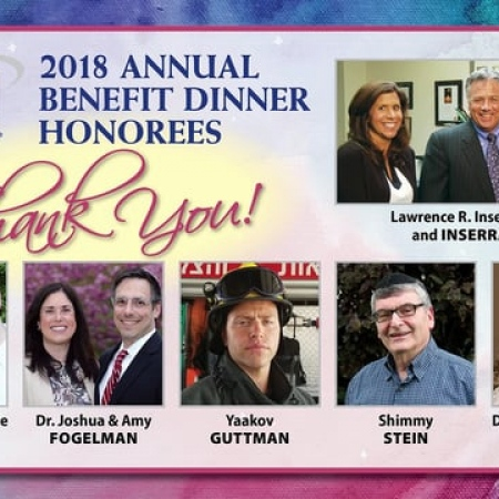 Esti Herman, Chief Development Offier, and Rabbi Yisrael Rothwachs, Dean, SINAI Schools - Opening Remarks - Dinner 2018